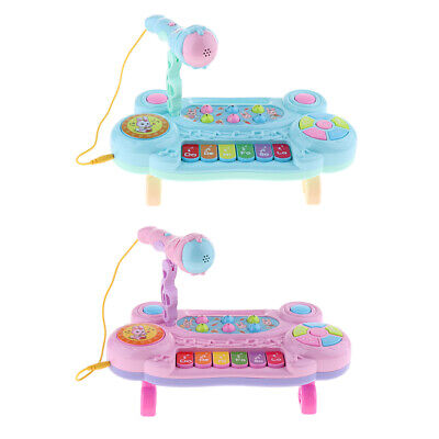 Kids Electronic Keyboard Mini Grand Piano with Microphone Musical Toy