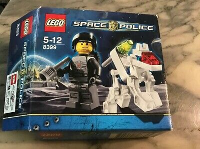 Omino Minifig Set 8399 LEGO Minifigures Space Police Officer 1x sp099