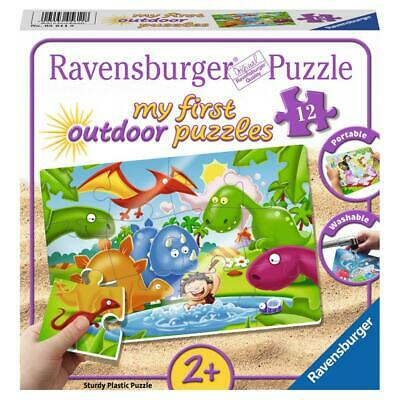 Ravensburger Puzzle Dinosaurier Freunde My First Outdoor Puzzles Kinder 12 Teile
