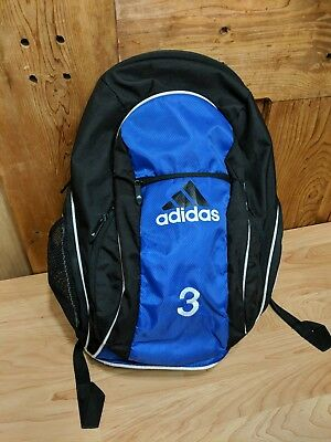 764f716384f6 adidas load spring backpack blue and black  3 embroidery GUC