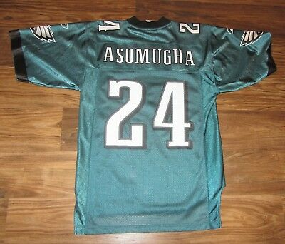 f30ea0a6f7c NFL Philadelphia Eagles Nnamdi Asomugha Mens Jersey, NFL On-Field, Size S,