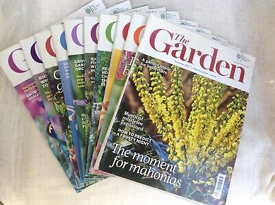 RHS The Garde Magazines 2102 - January to September & December