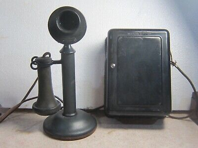 Western Electric candlestick with ringerbox