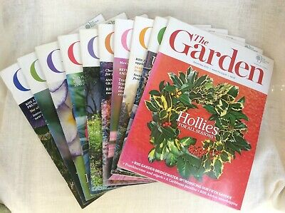 RHS The Garden Magazines 2015 - January to March & June to December