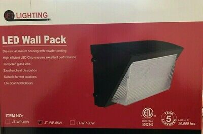 Led 65 Watts Wallpack 500K 50,000 Hrs