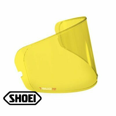 Shoei Motorcycle Helmets Anti Fog Pinlock Insert CW-1/CWR-1/CNS Yellow