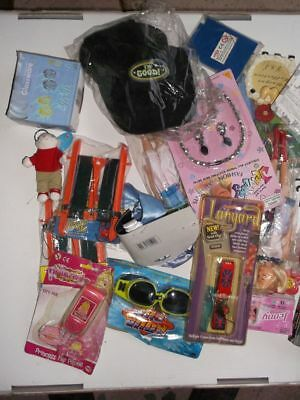 100 Brand NEW Toys lucky dip tombola prize fete fayre carboot reseller wholesale