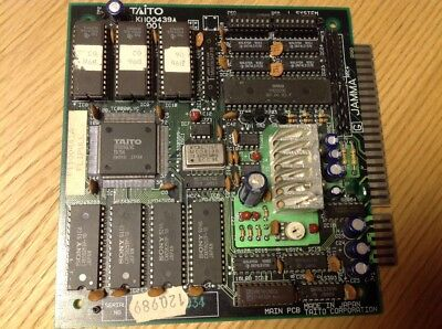 PLOTTING, original Taito pcb jamma, working 100%