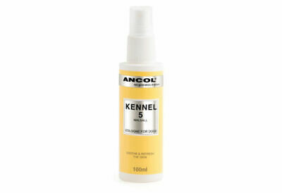 Ancol Dog Puppy Cologne Perfume Kennel 5 100ml Ideal For Grooming