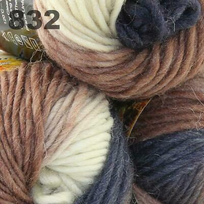 Sale Lot 3Ballsx50gr New Knitting Yarn Chunky Colorful Hand Wool Wrap Scarve 832