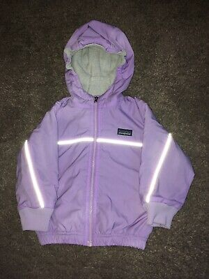 Girls Patagonia Lilac Lightweight  Jacket / 12 Months