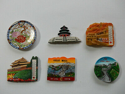 One Selected  Souvenir Fridge Magnet from  China