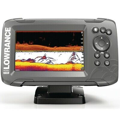 Lowrance HOOK2-5 with SplitShot Transducer and Inland Maps 000-14281-001
