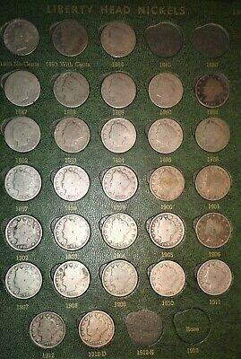 ☆ One Liberty Head V Nickel ☆ 5 Cent US Coin ☆ From Estate Sale Lot 1883-1912☆