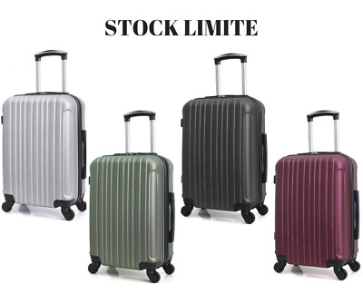 Valise Cabine De Voyage Bagage Low-Cost Sac Rigide Bagagerie Trolley ABS Chariot