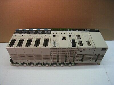 Omron Sysmac CS1g PLC w/ CLK21, ETN11, DRM21, and MD215(5) Modules
