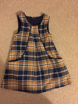 Dunnes Baby Girl Pinafore Dress 12-18 Months