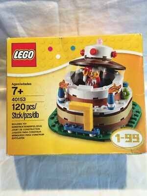 Lego 40153 BIRTHDAY CAKE Party TABLE DECORATION Set 1 99 Celebration