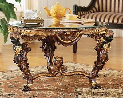 Antiqued French Royal Louis XIV  Table