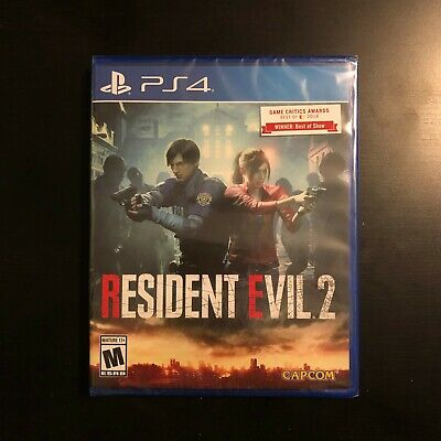 Resident Evil 2 - PS4 (RE2 remake for Playstation 4)BRAND NEW SEALED