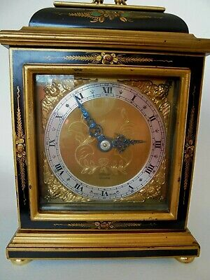 Elliott Chinoiserie Bracket Mantel Clock
