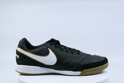 fa30edf65 Nike Men's Tiempo Mystic V IC Indoor Soccer Shoe Black US7.5 819222-010