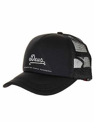 4c049e475c7 DEUS EX MACHINA Circle Logo Trucker Hat - Black White -  45.82 ...