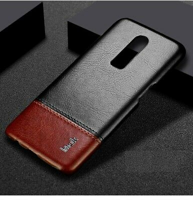 Luxury Leather Cover Case Oneplus 6 Slim Hard Back Shockproof Thin Protective