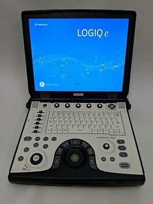Ge Logiq E R7 Bt12 Portable Ultrasound Machine - 2013 - E8C-Rs, 4C-Rs, 12L-Rs