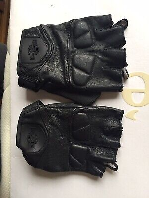 harley davidson motorcycles bikers riding gloves size M mens barely used
