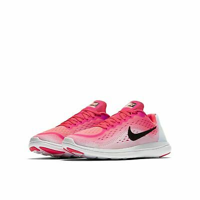4a9f8e9b14ee8 GIRLS NIKE FLEX 2017 RN (GS) 904252-600 Racer Pink NEW Size 6Y ...