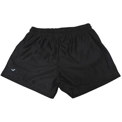 "Afl Adults Black ""sekem"" Footy Shorts - Brand New"