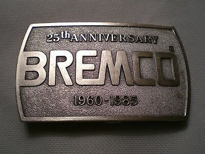 Vintage 25th Anniversary BREMCO 1960-1985 Belt Buckle