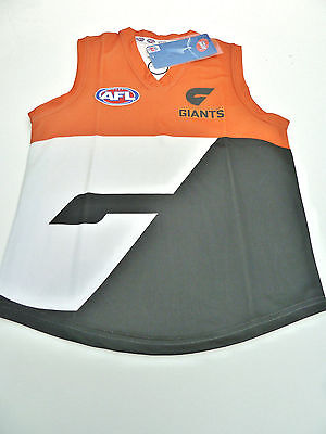 Afl Greater Western Sydney/Giants Kids Footy Jumper/Guernsey - Brand New