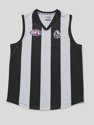 Afl Collingwood  Kids Footy Jumper/guernsey  - Brand New