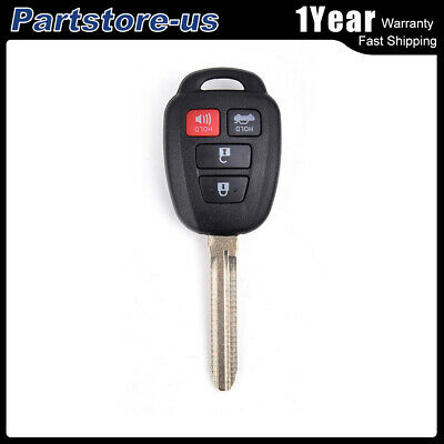 Replacement For Toyota Camry Corolla Keyless Entry Remote Car Key