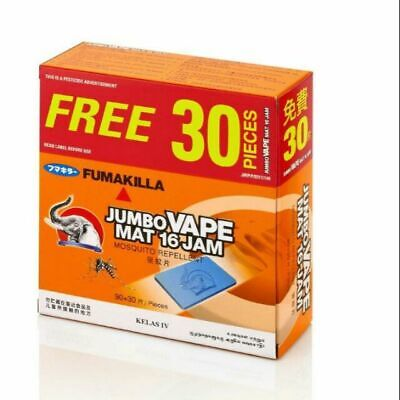 THERMACELL Refill Mats Only Value Pack 75 120 360 Insect Repellent Matt Tablet