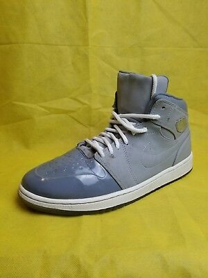 best authentic 94e12 8f805 Men s Nike Air Jordan 1 Retro 95 White   Cool Grey Ice Basketball Shoes(Size