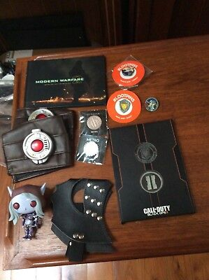 11 gaming Items Loot Pins Mask call of Duty collectibles