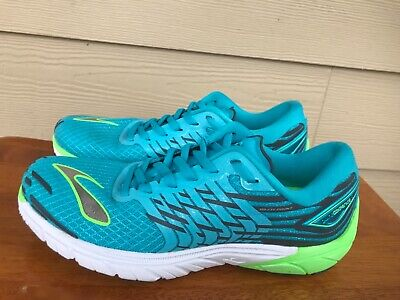 aea692aa8fe32 Brooks Pure Cadence 5 Women s Athletic Running Shoes Blue Turquoise Size 7.