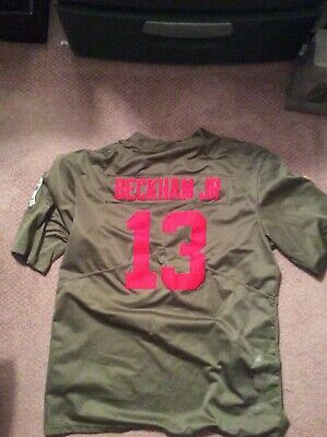 pretty nice 2717f 3d4a7 ODELL BECKHAM JR New York Giants Nike Salute To Service ...