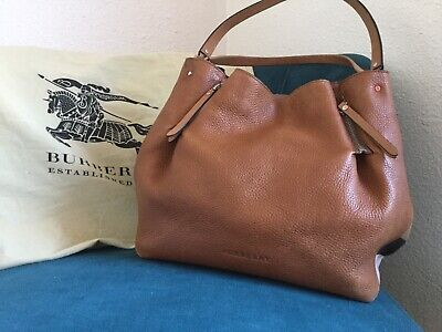 BURBERRY WOMEN S MEDIUM Giant Reversible Tote in Canvas and Leather ... 620c2d35b4972