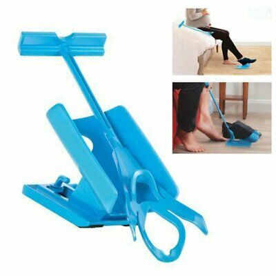 Sock Aid Slider Easy On and Off Sock Dressing Assist Mobility Helper Seen AS