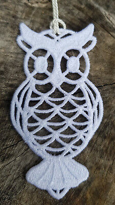 Retro Owl Free Standing Lace Bookmark