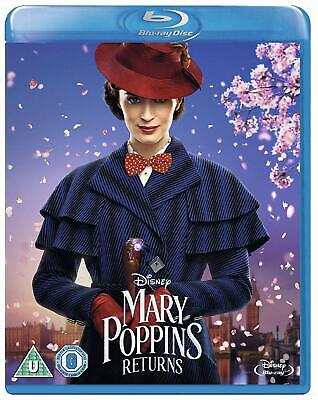 Mary Poppins Returns Blu-ray Emily Blunt Brand NEW Pre-Order 8717418544034