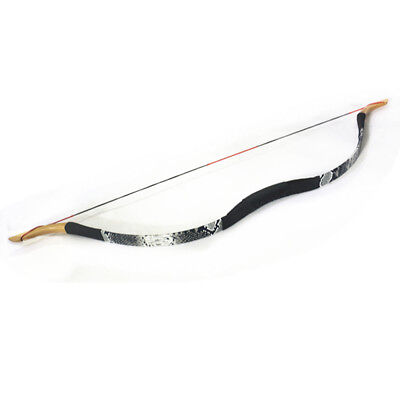 """43"""" 30LB Recurve Bow Fiberglass Wooden Bow and Arrows Practice Archery Hunting"""