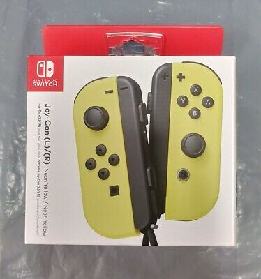 Nintendo Joy-Con Wireless Controllers for Nintendo Switch - Neon Yellow