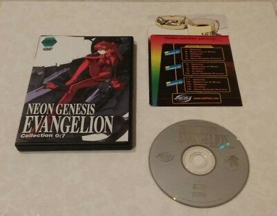 Neon Genesis Evangelion - Collection 7: Episodes 21-23 (DVD, 2001) Rare OOP