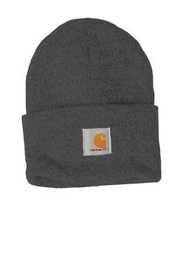 3e21810786aab Carhartt Acrylic Watch Beanie Knit Men's Stocking Cap Warm Winter Hat  Authentic
