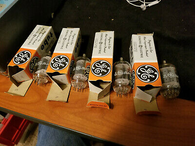 Lot of four GE 12JB6A Tubes NOS Tested